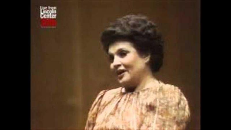 Marilyn Horne Se Romeo T'uccisi Un Figlio From Bellini's I Capuleti ed i Montecchi