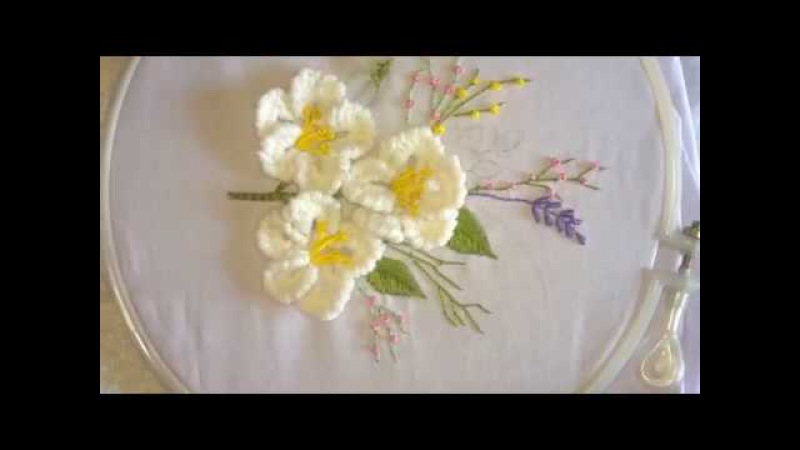 Hand embroidery Brazilian embroidery