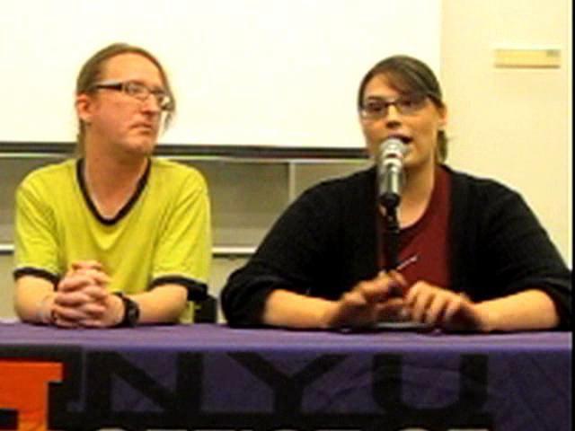 NYU Intersex Awareness Day 2010 -