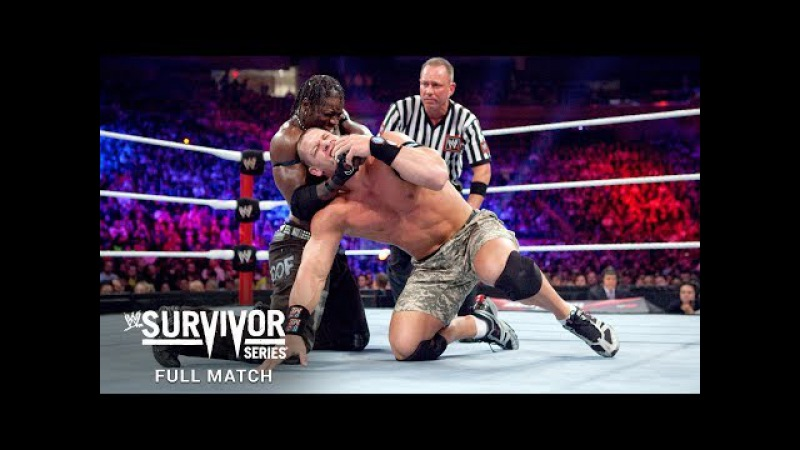 FULL MATCH - The Rock John Cena vs R-Truth The Miz: Survivor Series 2011 (WWE Network Exclusive)