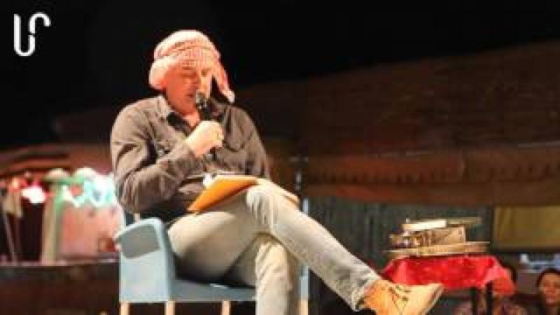 Літературне сафарі з Лесем Подервянським (Дубай, 08.04.2016)