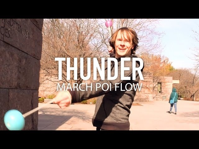 Poi Dancing IMAGINE DRAGONS - Thunder | Choreography by Drex