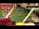 MEGA Xmas Marble Run Christmas City part 2