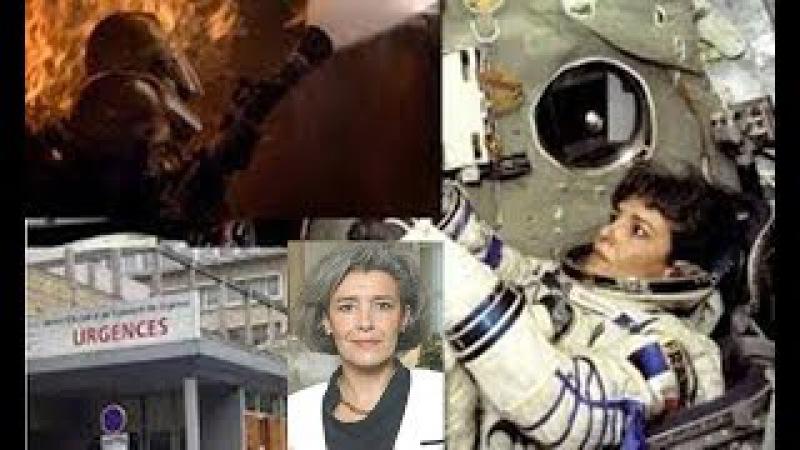"""""""A Terra deve ser avisada!"""" Grita astronauta francesa Antes de tentativa de suicídio"""