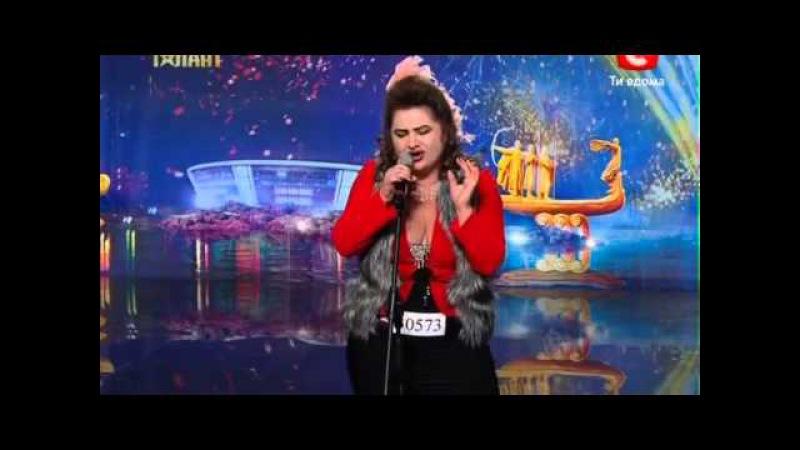 Украина мае талант 4! - ТАТЬЯНА ПУШИНА [31.03.12]   МегаТалант TV