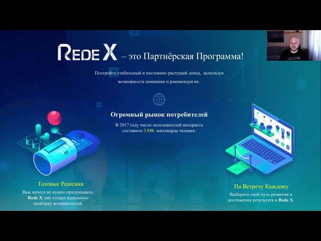 Новая презентация RX Inc (Rede X)