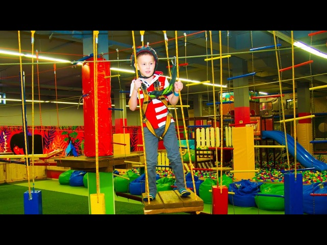 Funny Indoor Playground For Kids Entertainment - Nursery Rhymes Songs For Babies