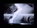 Glitch Art Experimental film: waves, sun and moon