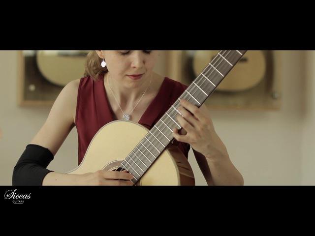 Ivana Solcaniova plays Sonata III, Chanson by Manuel M. Ponce on a Armin Hanika 56 AF N