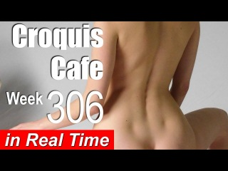 Croquis Cafe: Figure Drawing Resource No. 306 (new model, Katlin)