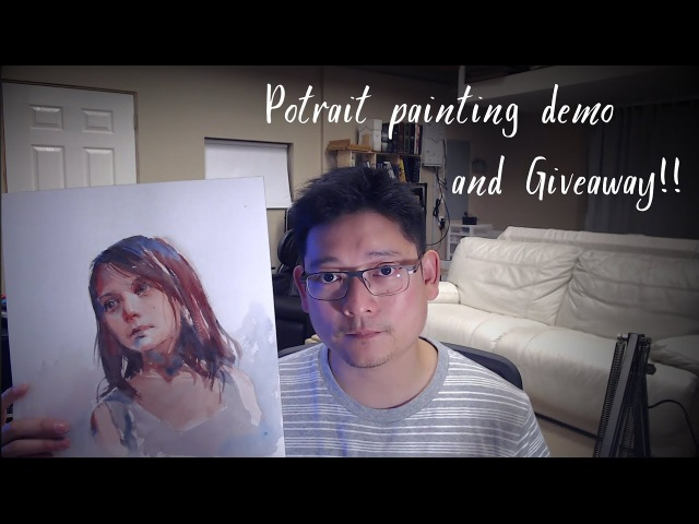 Dafne - Portrait Painting Demo, Painting Giveaway!