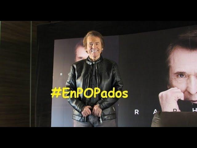 RAPHAEL en MÉXICO Conferencia de prensa COMPLETA Loco Por Cantar Infinitos Bailes. EnPOPados
