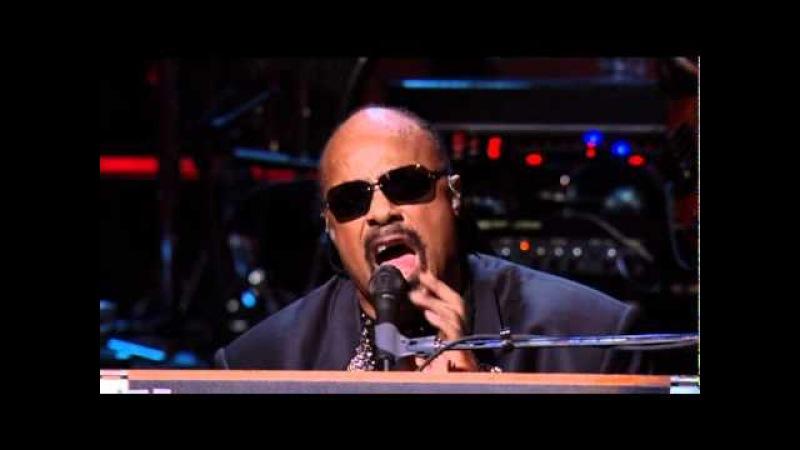 Stevie Wonder Sting - Higher Ground/Roxanne (Live)