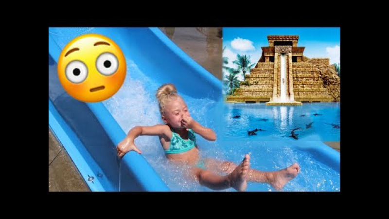 SURPRISING OUR 4 YEAR OLD WITH TRIP TO THE WORLD'S BIGGEST WATERPARK