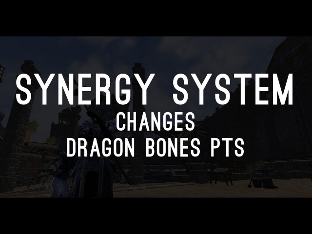 Synergy Changes on the PTS Dragon Bones DLC! The Elder Scrolls Online ESO
