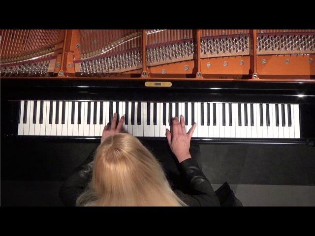 Valentina Lisitsa, J. S. BACH Partita No. 2 c-mol/c-minor, BWV 826 on Bösendorfer