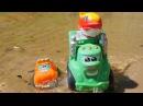 Развивающие мультики для малышей про машинки 🚚 Чак и Рауди ЛОВЯТ РЫБУ на пляже....
