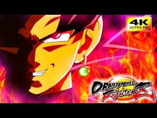 DRAGON BALL FIGHTER Z 4K NEW scans & characters Goku Black, Beerus, Hit, Vegeta SSJ Blue FIGHTS