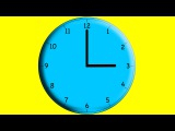 Learning to tell time 1 oclock to 12 oclock Counting Guessing Time on Clock Kids Children