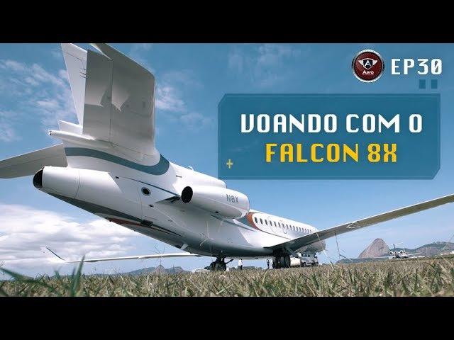 Experiência na Aviação Executiva a bordo do Dassault Falcon 8X