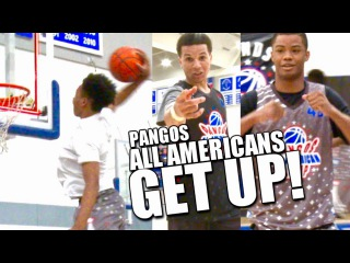 CRAZY DUNKS by Cole Anthony, Kyree Walker, Cassius Stanley & More at Pangos All American Camp