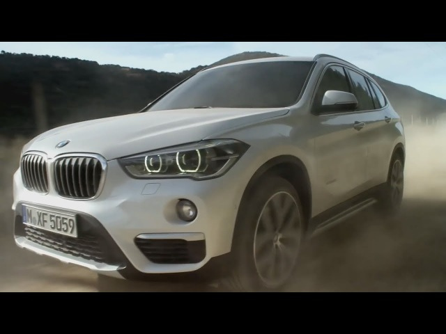 The new BMW X1 New ways instead of retracted routines