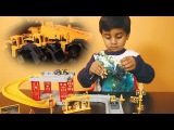 Puzzle Toys For Kids - Excavator, Bulldozer Puzzle (Unboxing and Riding) Minnu Latest Video