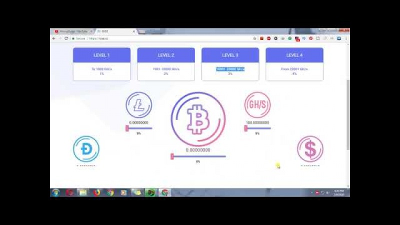Powerful Cloud Mining Site ryse| 100.000 GH/s Bonus | Earn BTC, DOGE, USD, LTC | NO Investment | MG