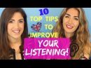 Ten steps to improve your English listening skills and understand English Native speakers better