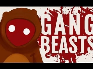 Видео для детей. Gang Beasts онлайн. Моя игра на пс 4 персонажем Бабушка в Ганг Бест онлайн