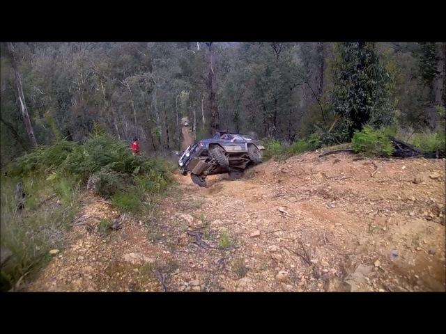 4WD rolled backward || NISSAN || 4WD Fails