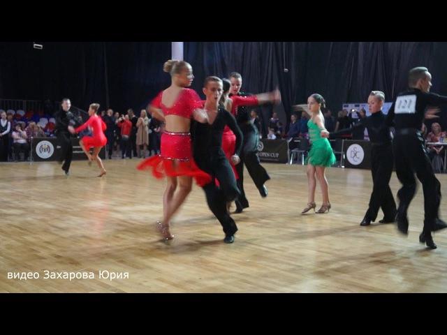 Джайв на турнире по бальным танцам Siberian Open Cup 2017