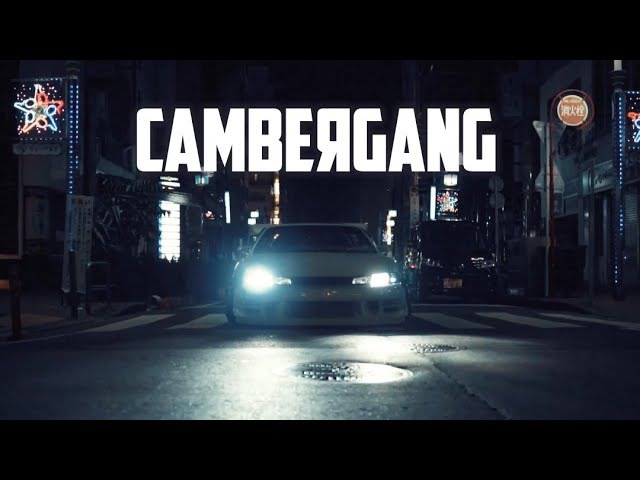STREET ON NIGHT S14 CAMBERGANG JAPAN STANCE