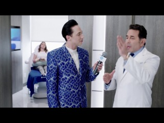 Johnny Weir and Dr. Paul Nassif Deliver CoolSculpting Treatment Play-by-play