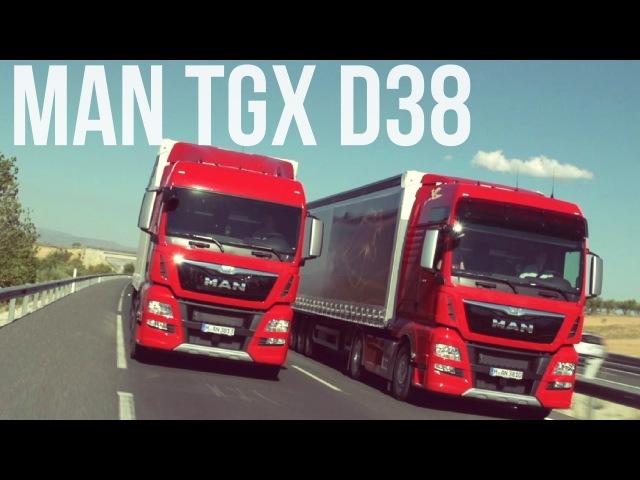MAN TGX D38 Long-Haul