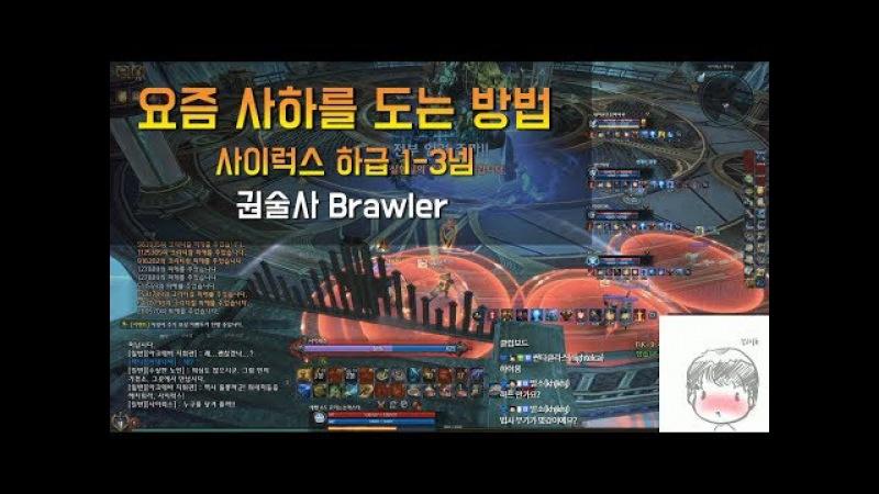 [TERA테라] 요즘 사하 도는 방법 - 권술사 Cyrux Lab NM - Brawler