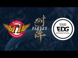 SKT vs. EDG Group Stage Day 8 2017 World Championship SK telecom T1 vs Edward Gaming