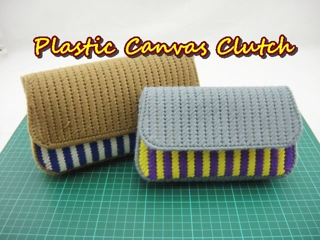 Plastic Canvas Craft Purse Clutch