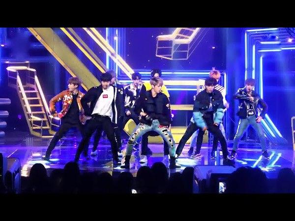 (Mirrored) WANNA ONE (워너원) - BOOMERANG (부메랑) Choreography Dance Practice Fancam Live