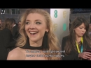 BAFTAs - Natalie Dormer talks the importance of Times up (Rus sub)
