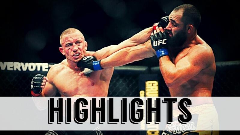 Georges St-Pierre vs. Johny Hendricks ● Fight Highlights ● HD