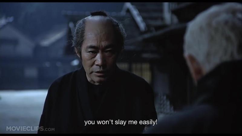 The Blind Swordsman Zatoichi (1111) Movie CLIP - Sense the T