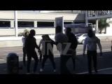 Rapper Tekashi69 and Crew in Massive Brawl at LAX{RD}