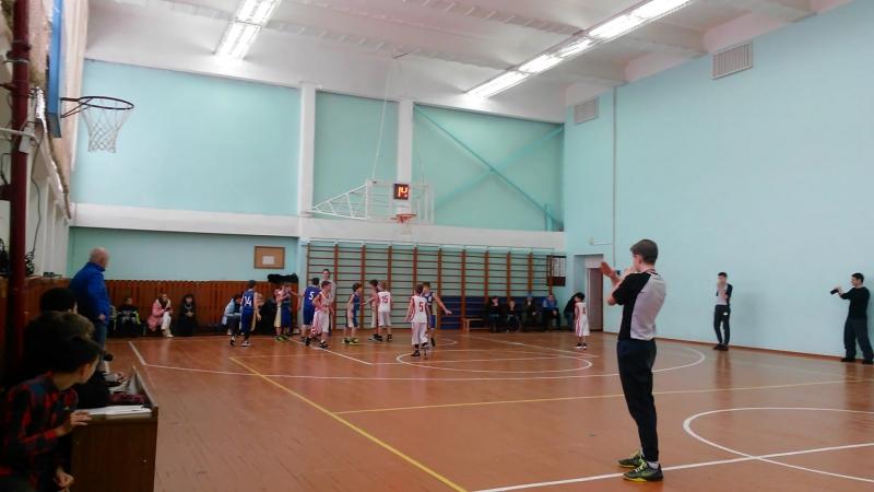 20.01.18 Баскетбол. Юноши 2008. Богородское - Сергиев Посад (4
