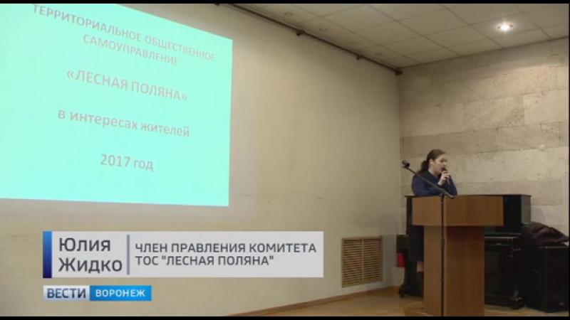 Воронежцы выступили против дороги через Нагорную дубраву