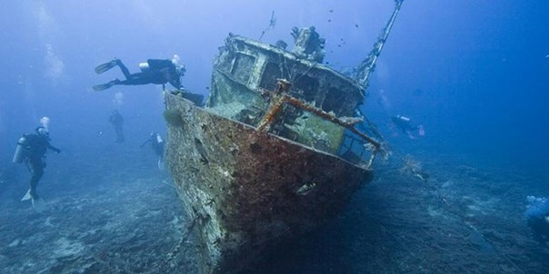 У берегов Крыма нашли уникальное судно с непростой историей