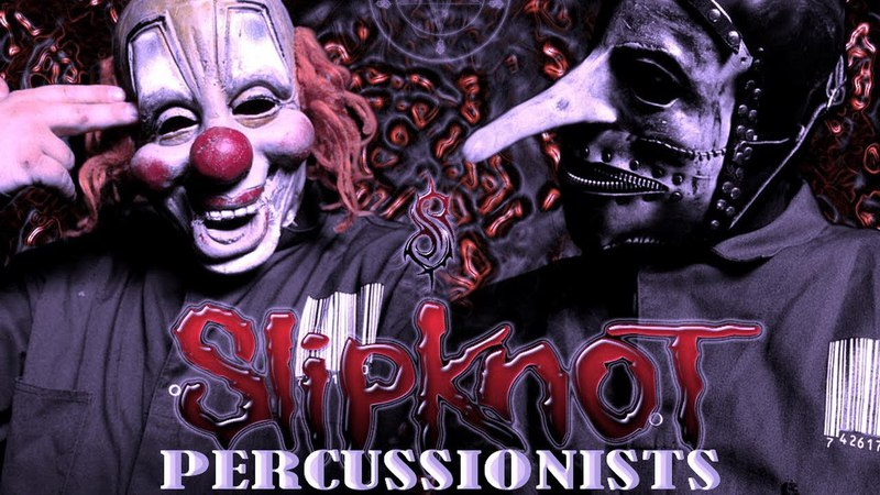 Slipknot Percussionists Moments 6 Shawn Crahan 3 Chris Fehn Rehearsals Rare