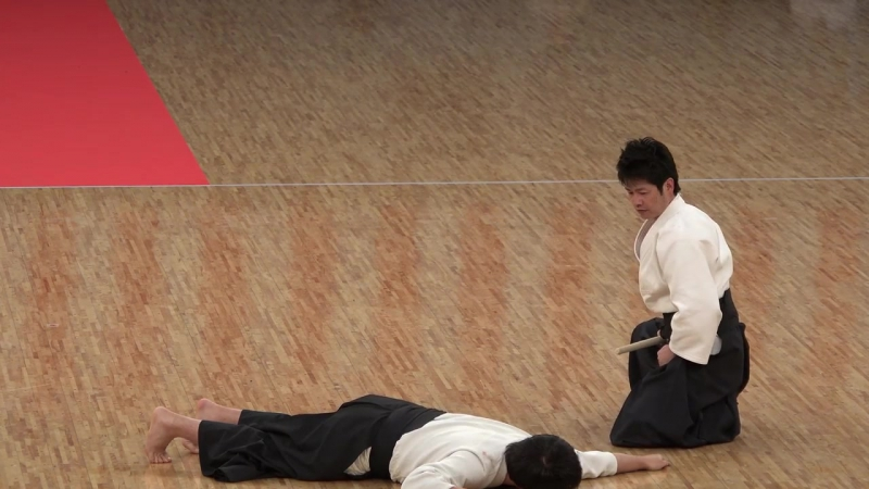 Ju Jutsu.Демонстрация техники Такеноучи Рю Дзю Дзюцу.