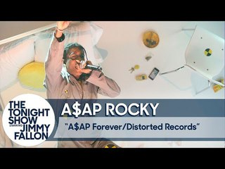 A$AP Rocky Performs a Film-Like Medley of