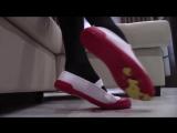 Japanese School Shoes Crush Blood Clayman